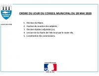 ODJ Conseil du 28/05/2020