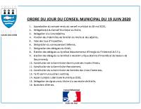 ODJ Conseil du 19/06/2020