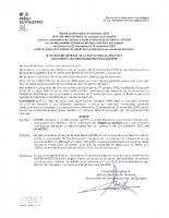 Arrêté préfectoral 06/11/2020 – Report Elections