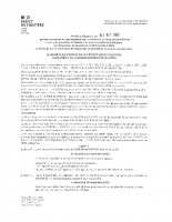 Arrêté préfectoral élection 01 Oct 2020