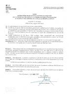 Arrêté Préfectoral – Liste des Candidats – Election 21 Mars 2021 (2nd Tour)