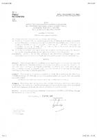 Arrêté Préfectoral –  Liste des Candidats – Election 14 Mars 2021