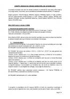 CR Conseil  du 26/03/2021
